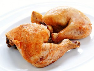 kip voor bodybuilding