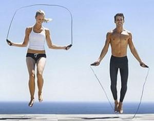 springtouw voor fitness